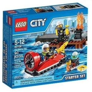 LEGO City 60106 Ensemble de Démarrage Pompiers Neuf