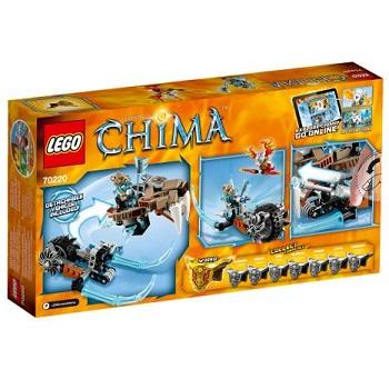 LEGO CHIMA 70220 La Moto Sabre Neuf Boite un peu abîmé.