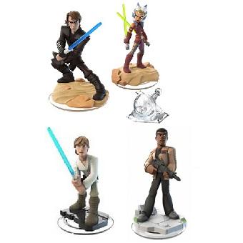 Disney Infinity 3.0 Star Wars 4 figurines + Monde Star Wars (Lot 2)