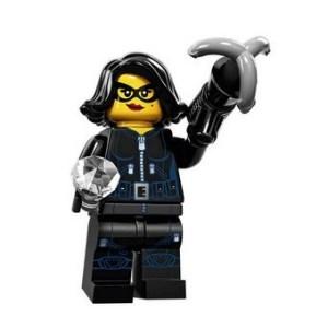 VOLEUSE MiniFigurine Lego Série 15 (Voleuse DE PIERRES PRÉCIEUSES)