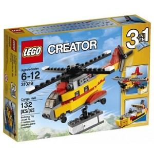Hélicoptère Cargo Creator 31029 LEGO® avec boite et notice