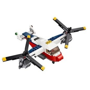 LEGO Créator 31020 L'avion à double hélices