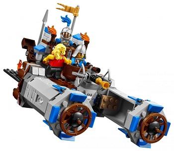 La forteresse 70806 LEGO The Movie