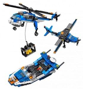 LEGO Creator 4995 3 en 1 avec notice sans boite.
