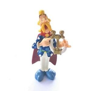 Assurancetourix figurine Astérix et Obélix PLASTOY 2003