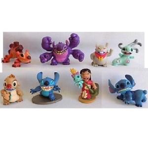 Lilo et Stitch 8 figurines Disney d'occasion