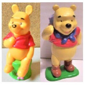 Winnie L'ourson 2 Figurines sur socles Disney
