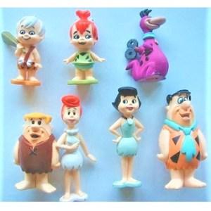 Pierrafeu 7 figurines 1992 Hanna-Barbera Vintage