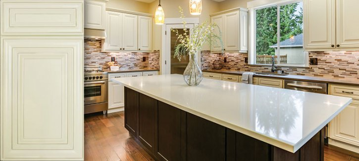 prefabricated kitchen cabinets best laminate flooring for jarlin cabinetry : perla – royal and