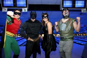 Bowling for Batman (Matthew Prior, Greg Kuchma, Dareen Kuchma, and Andrew Rymes, Sales Representatives)
