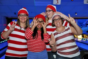 Waldo's Lucky Strikers (Tammy Ford, Maria Albanese, Katie Yeomans, and Carrie-Anne White, Administrative Employees)