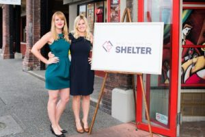 Saira Waters and Tasha Medve of Royal LePage Coast Capital Realty in Victoria, BC kick off their 4th annual Raise the Roof for Shelter fundraiser