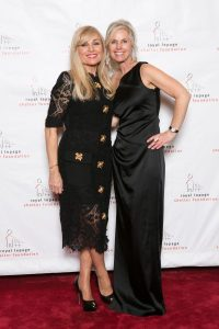 Vivian Risi (Broker/Owner and Shelter Gala committee member) and Caroline Baile (Broker) with Royal LePage Your Community Realty attend the 9th annual Shelter Gala.