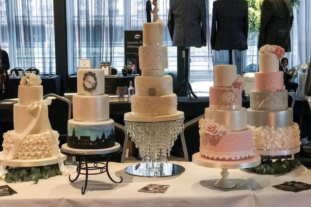 The Cake shop Liverpool Wedding cake Selection