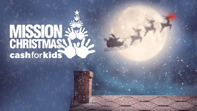 Mission Christmas Radio City Cash for Kids logo