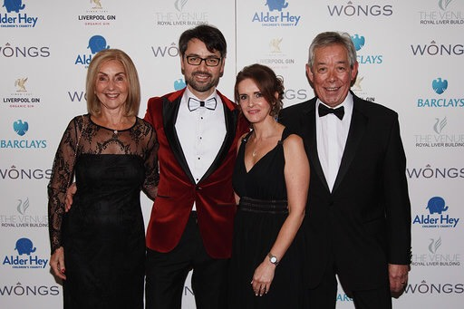 Wongs Jewellers owners and managing director Peter Wong and family at Wongs Annual Winter Ball 2019