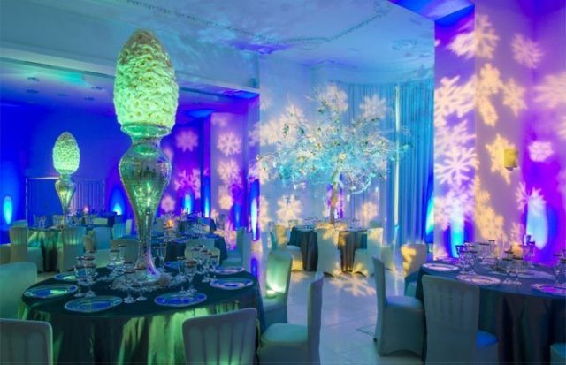 Christmas Party dining room decoration