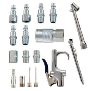 17 Piece Compressor Inflation Kit with Blow Gun