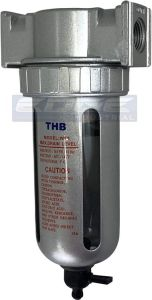 Particulate Filter Water Trap Separator Moisture Compressed Air Compressor by THB