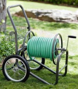 Liberty Garden 880-2 Industrial 2-Wheel Pneumatic Tires Garden Hose Reel Cart