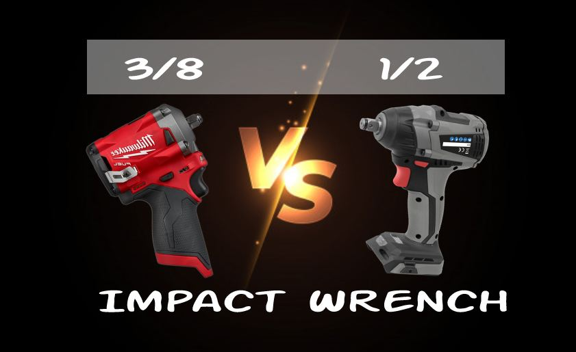 The Battle of 3/8 vs. 1/2 Impact Wrench