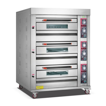 Gas Oven Kue 3 Deck 6 Tray ROYAL