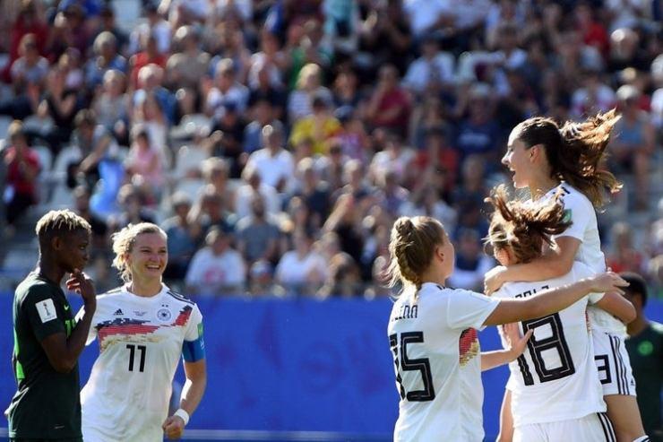 Germany defeats Nigeria 3-0