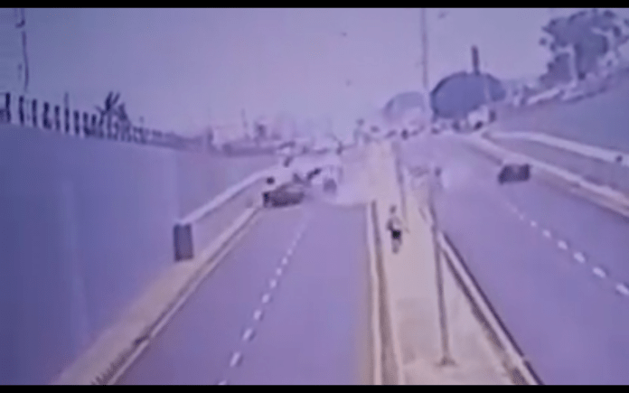 WATCH VIDEO: Ilorin accident claims 2 drivers