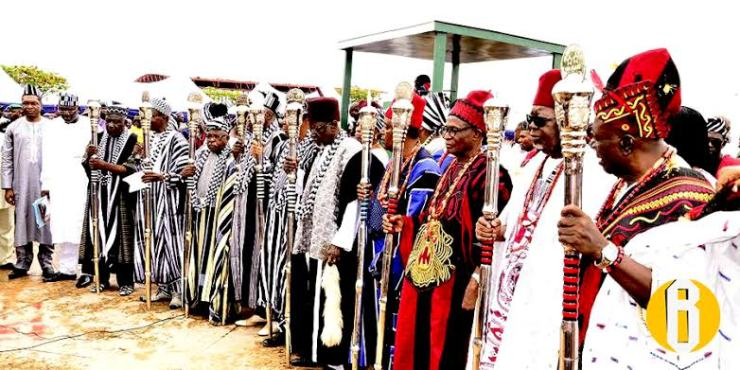 Breaking....Nigerian Governor suspends 3 traditional rulers