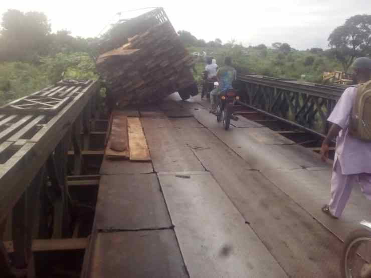 BREAKING.... Ohan colonial bridge crying for urgent attention (PHOTOS)