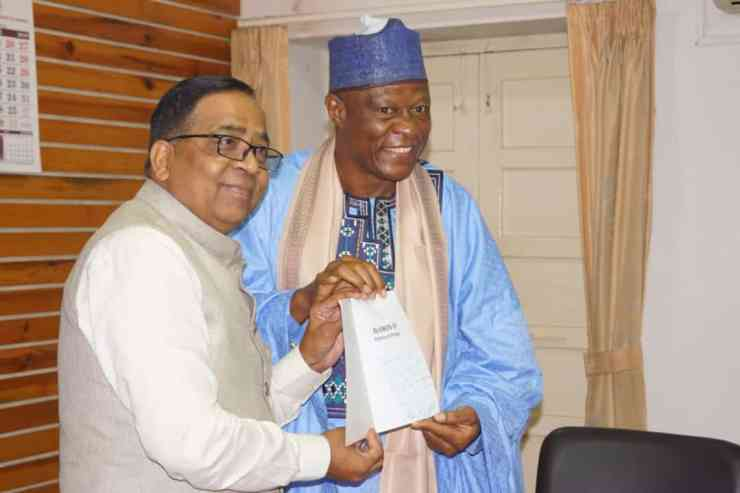 UPDATED.. Na'Allah seeks collaboration with Indian varsity on research (PHOTOS)