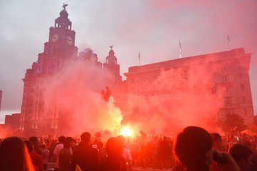 'WHOLLY UNACCEPTABLE' DUBBED LIVERPOOL FAN'S GATHERING