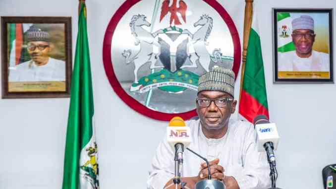 BREAKING....Kwara Gov dissolves cabinet, retains SSG