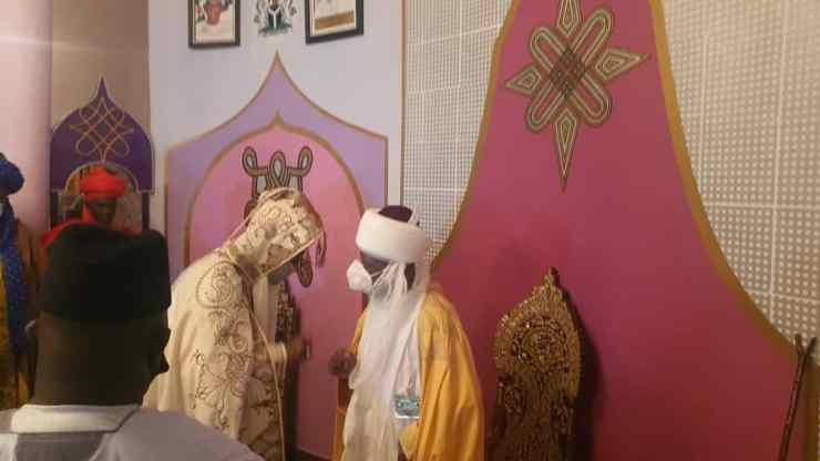 Sulu-Gambari, Ado Bayero, others attend jumat service in Ilorin