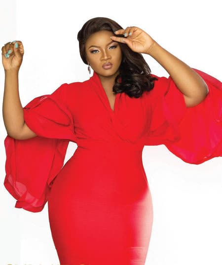 Actress Omotola reveals why she didn't mourn her father