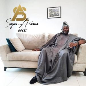 Actor Segun Arinze celebrates 55th birthday
