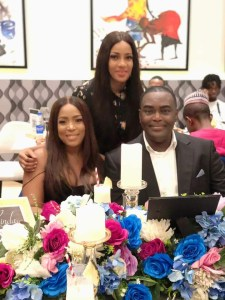 Photos and video from Linda Ikeji's birthday dinner