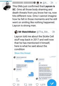 BBNaija's Laycon reveals he has 'Sickle Cell', making him and Erica trend on Twitter
