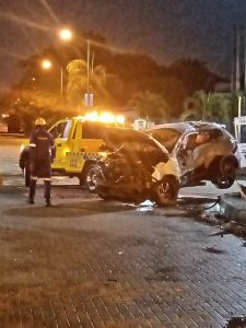 One dead, three injured as 2 vehicles collide in Ikoyi