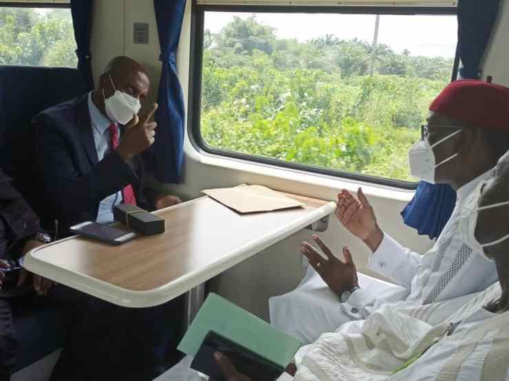 Buhari commissions Itakpe-Ajaokuta-Warri rail line 33 years after conception