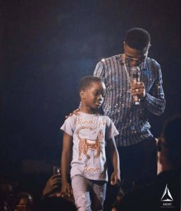 My dad's album will be the best you ever heard – Wizkid's son, Boluwatife says