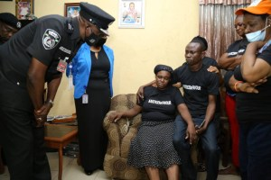 #Justiceforfavour: Lagos police chief visits family of girl raped to death, vows to ensure justice is served (photos)
