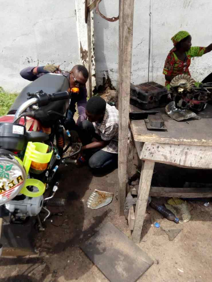 SS 1 female-mechanic gets sponsorship in Kwara