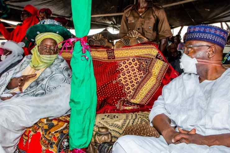 Emir of Lafiagi clocks 45yrs on the throne, Gov. Abdulrazaq reacts
