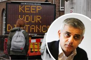 London mayor announces new restrictions with 'difficult winter' ahead