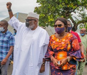 Gov Akeredolu in early lead over Jegede, Ajayi as results shows
