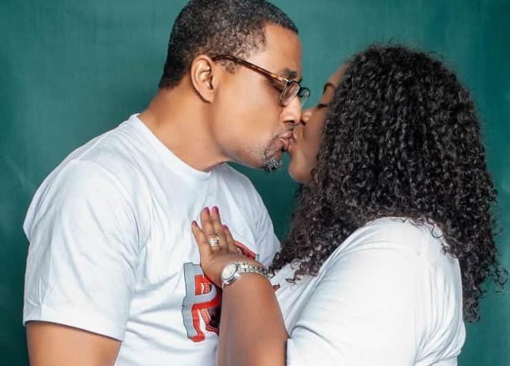 Tony Umez, Veteran Nollywood actor, celebrates 21st wedding anniversary with his wife, Patsy (Photos)
