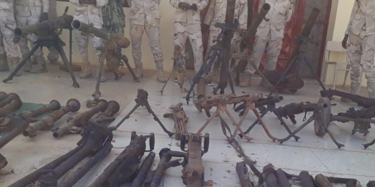 Sudan forces seize large amounts of weapons in eastern state
