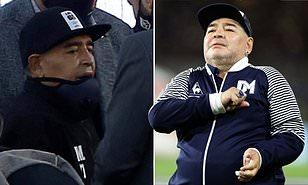 Diego Maradona taken to hospital