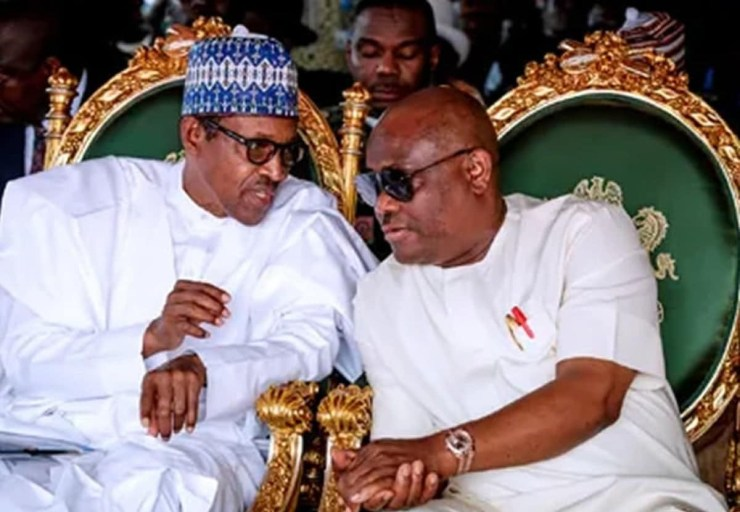 If Buhari does not listen to the people given the opportunities he has now, he will be putting Nigeria on fire - Governor Wike (video)